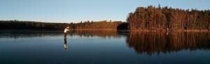 Blank Lilla Lövsjön